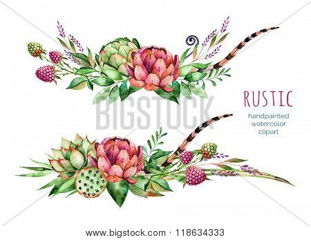 Colorful floral collection