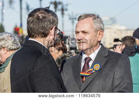 Romanian Politician Liviu Dragnea
