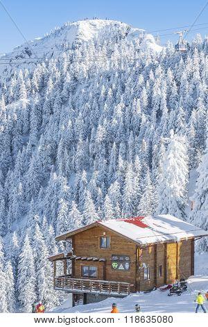 Mountain Cabin From Poiana Brasov