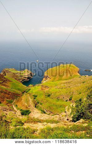 Lagoon Between Peninsulas