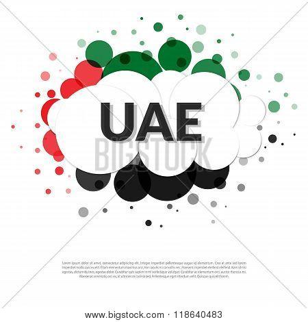 Uae Flag Banner
