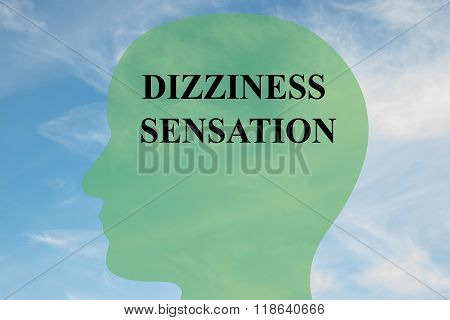 Dizziness Sensation Concept