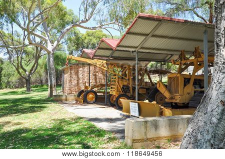 Farm Equipment: Azelia Ley Homestead