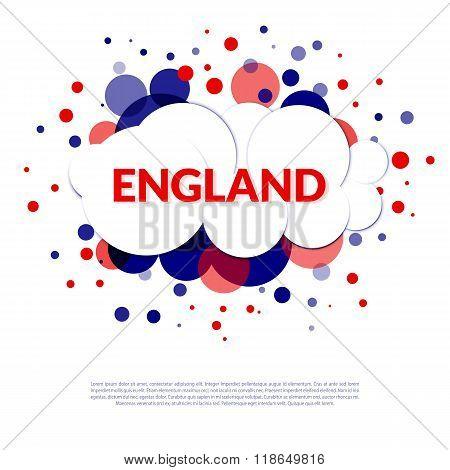 England Flag Banner