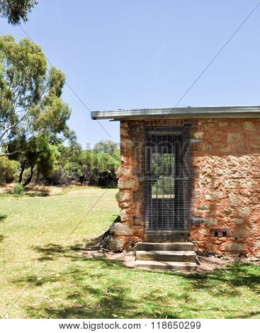 Outbuilding at Azelia Ley Homestead