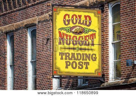 Shop Sign In Deadwood