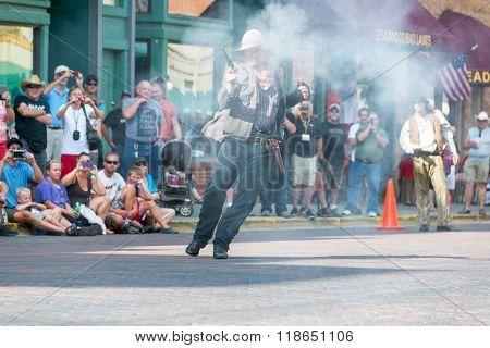 Historic Gunfight Reenactment