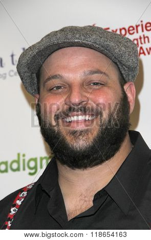 Daniel Franzese arrives at the