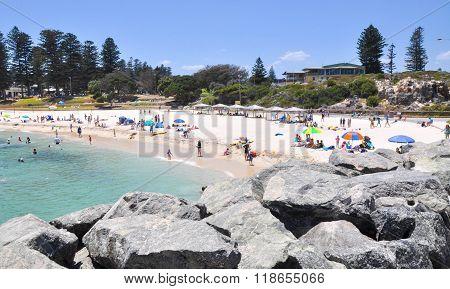 Cottesloe Beach Scene: Western Australia