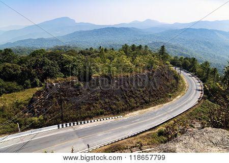 Road to Doi Inthanon