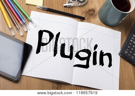 Plugin - Note Pad With Text