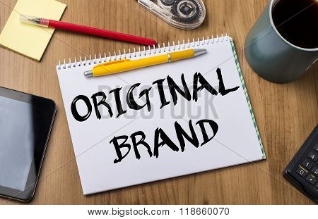 Original Brand - Note Pad With Text