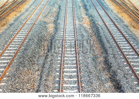 Rail Way Background