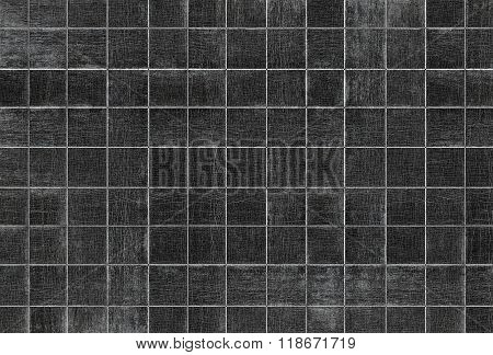 Old wood grain texture with square patterns