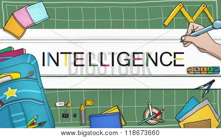 Intelligence Inteligent Smart Genius Insight Skilled Concept