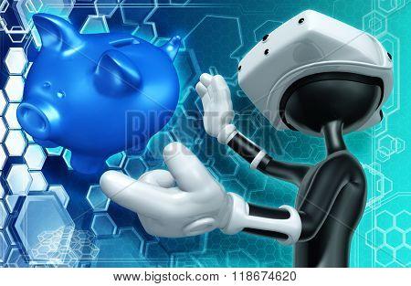 Virtual Reality VR Banking