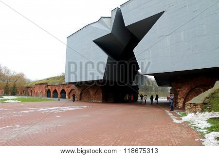 Entrance to the Brest fortress