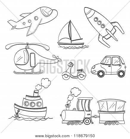Doodle Transport
