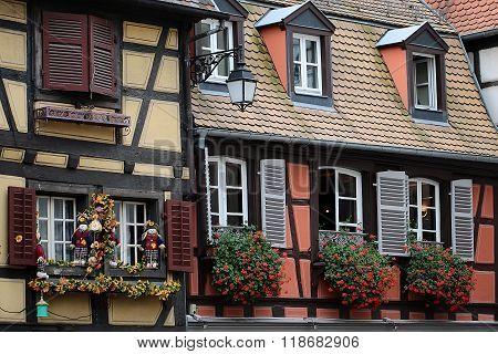 Beautiful Buildings In Colmar