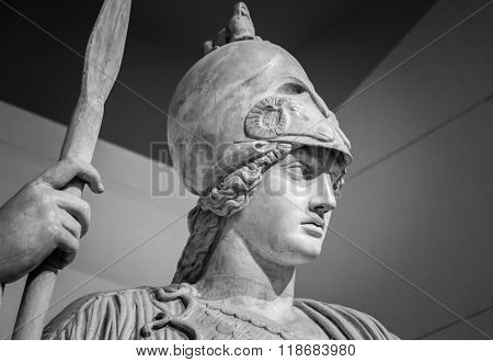 Athena the ancient Greek goddess