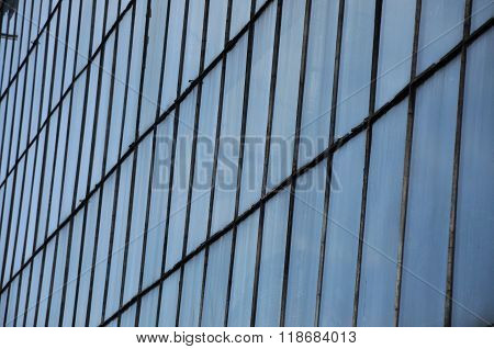 Business Building Window Background