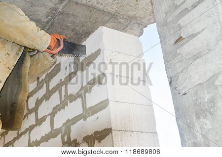 Cutting Of Aerated Concrete