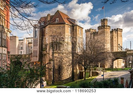 Black Gate Gatehouse And Castle Keep