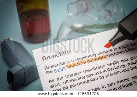 Bronchitis Treatments