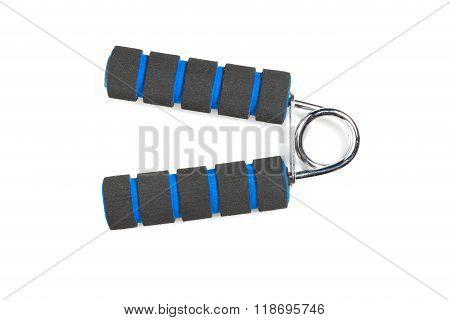 Black Hand Grip Striped Blue.
