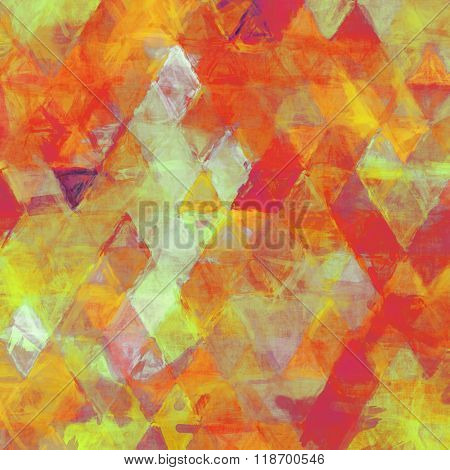 triangle painting