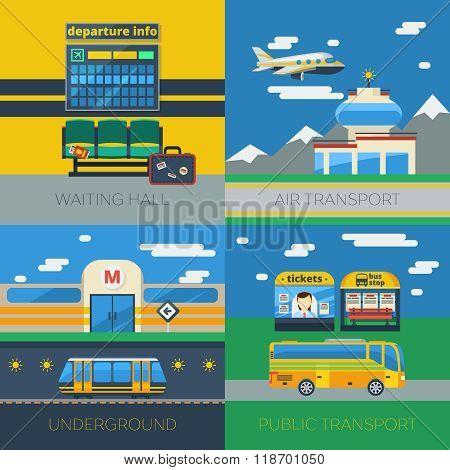 Passenger Transportation 2x2 Design Concept
