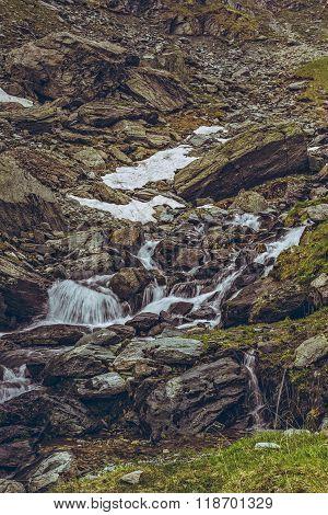 Mountain Stream Rapids