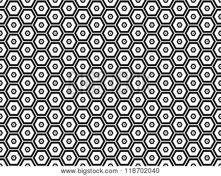 Honeycomb Seamless Pattern 4