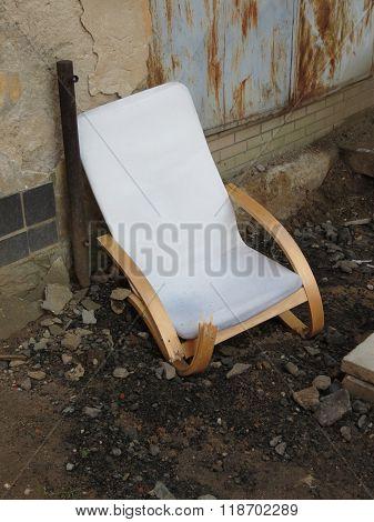 Broken Armchair