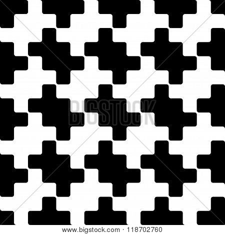 Squares Seamless Pattern Zigzag Ornament 1