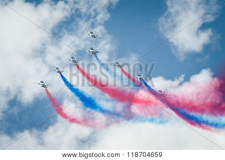 T-50B Black Eagles Fighter Jets