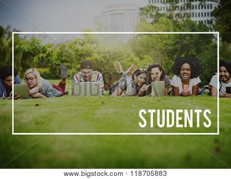 Students Education Novice Recruit Studying Trainee Concept