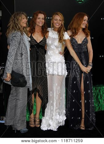 Blake Lively and family at the Los Angeles Premiere of