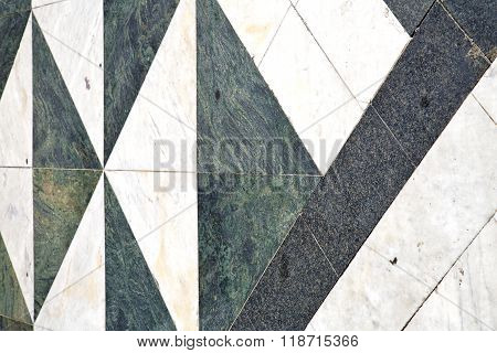 Varese Abstract   Pavement Of A Curch And Marble