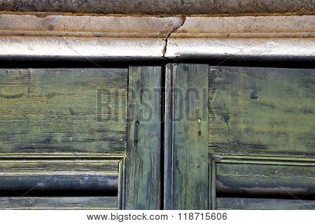 Window  Varese Palaces I      Wood Venetian Blind Concrete