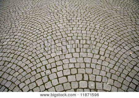 Cobble Stone Pattern Pavement