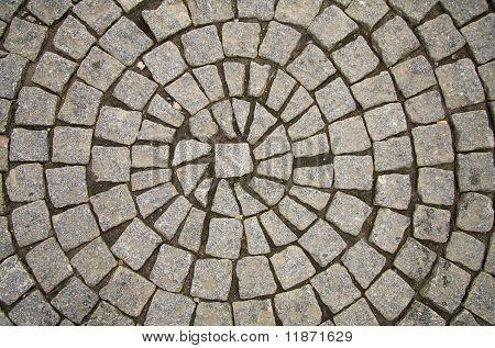 Cobble Stones In Circle
