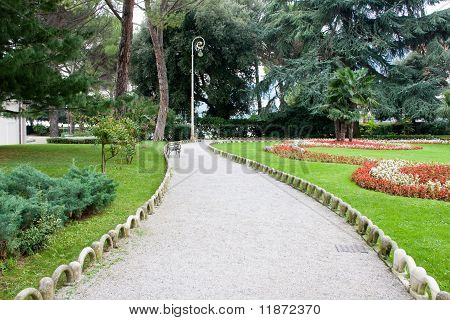 Park Of Saint James, Opatija, Croatia