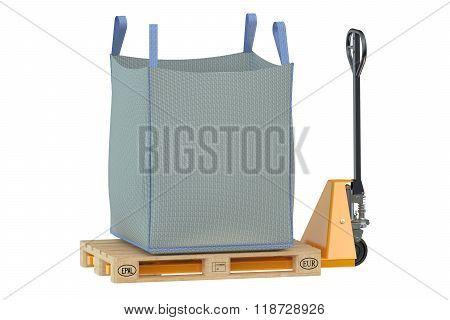 Pallet Jack With Big Bag