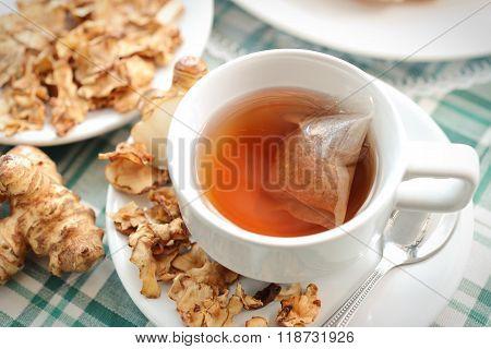 Tea Maker Helianthus Tuberosus Hot Drinks