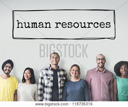 Human Resources Career Employment Occupation Concept