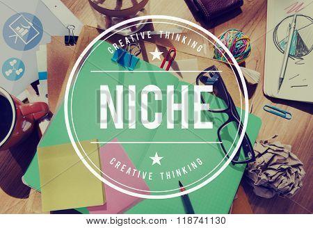 Niche Market Demand Consumer Target Concept