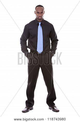 Handsome Black Businessman