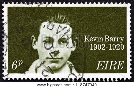 Postage Stamp Ireland 1970 Kevin Barry