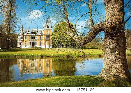 beautiful romantic castles of Belgium